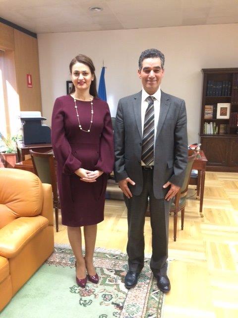 ambassadrice de chypre