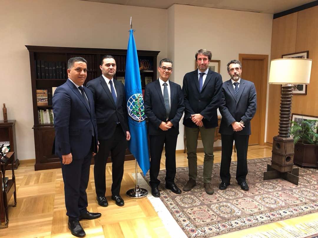 Libia visita al COI