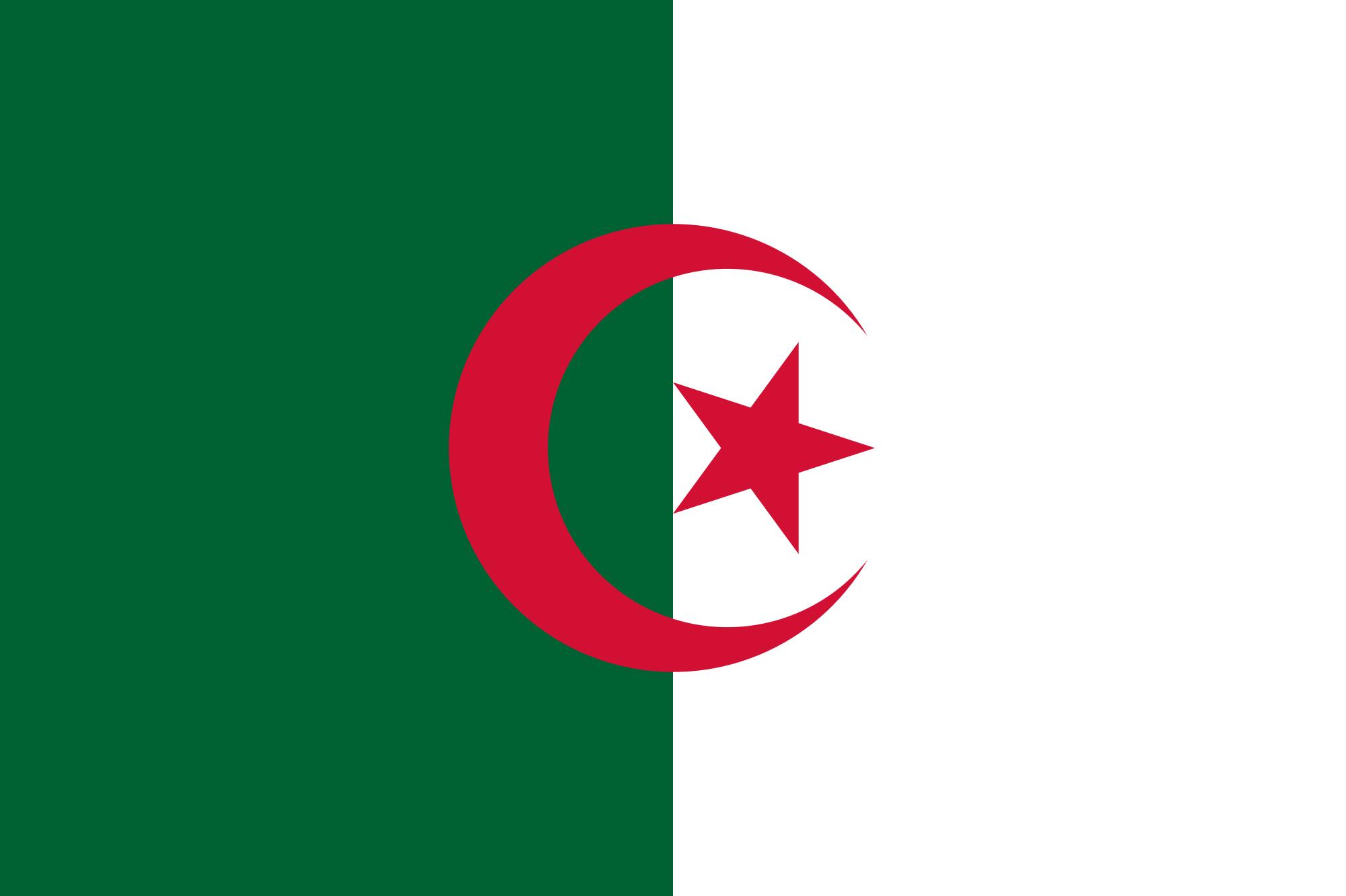 bandiera d'Algeria
