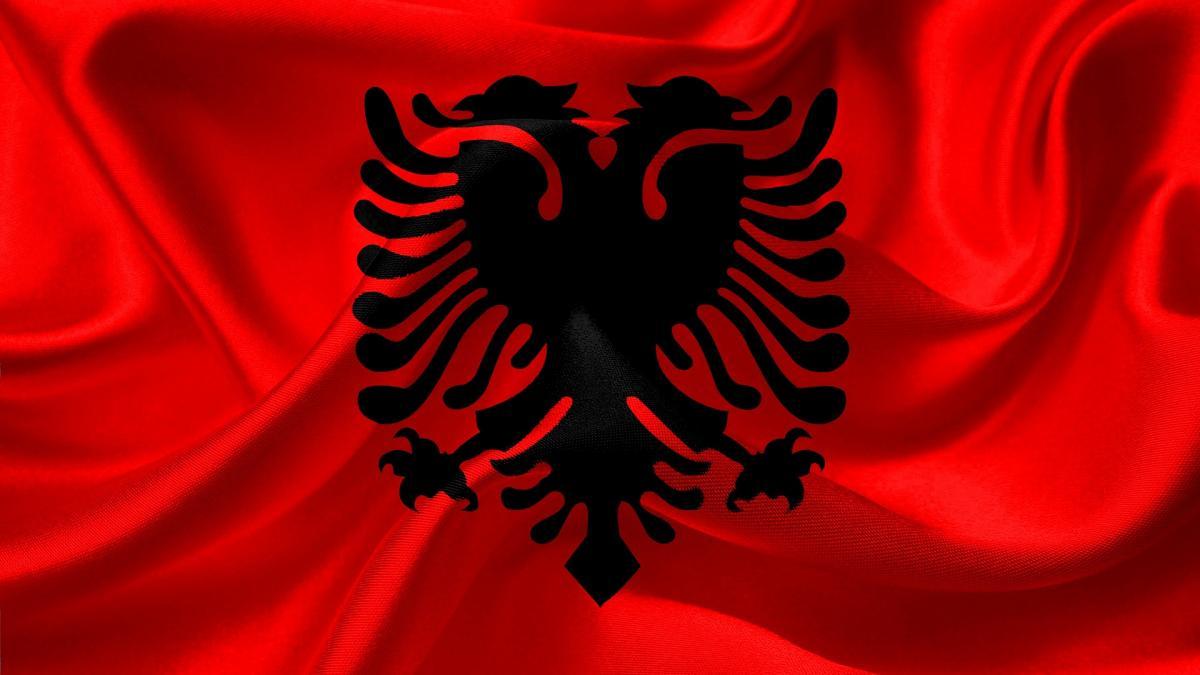 bandiera albania 2