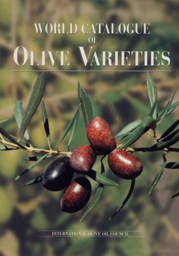 Catálogo Mundial de Variedades de Olivo (Spanish paper edition) cover