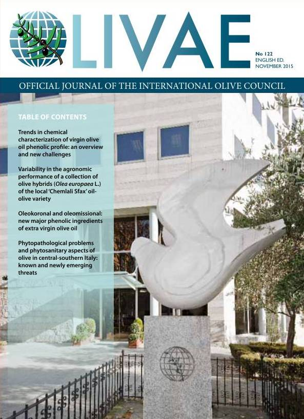 Cover Olivae 122