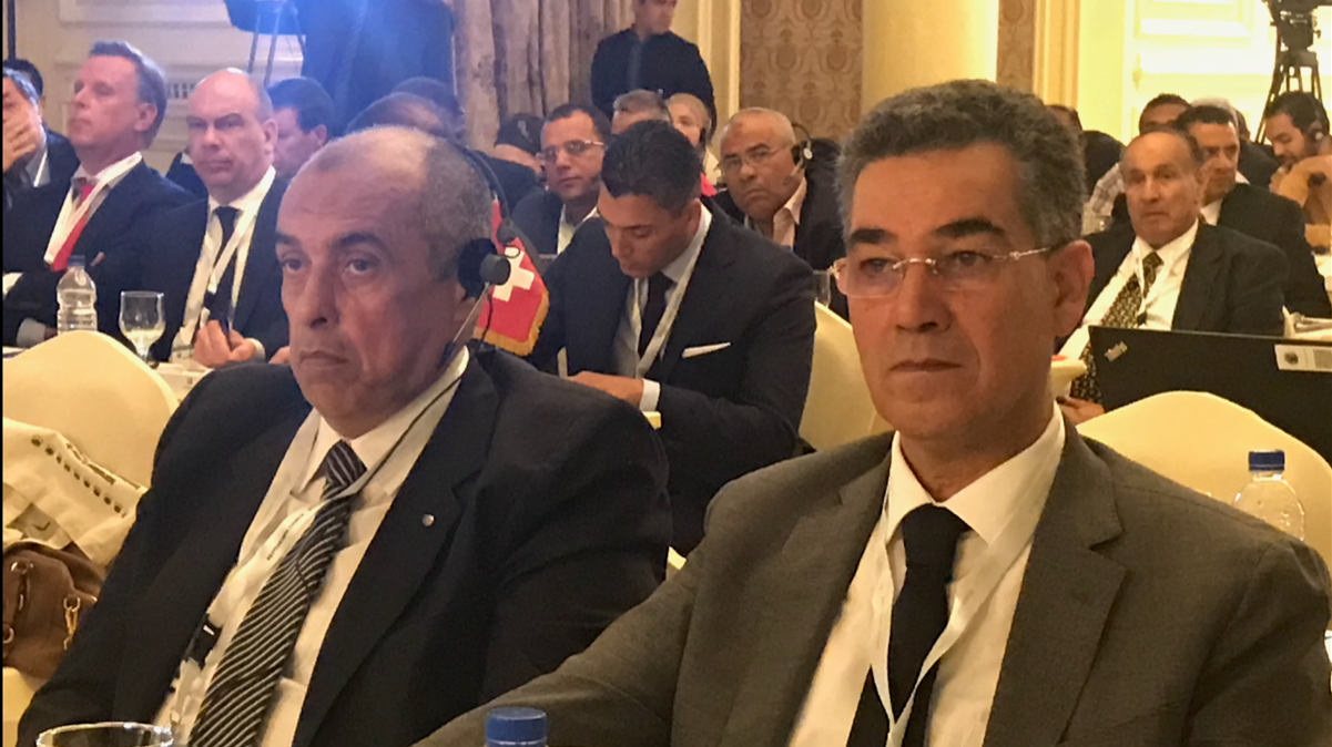 ghedira e ministro egiziano due